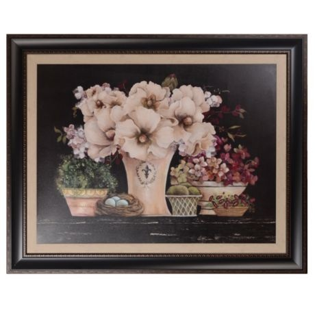 Natural Still Life Framed Art Print | Kirklands...bought this for my dining room...it's beautiful!!