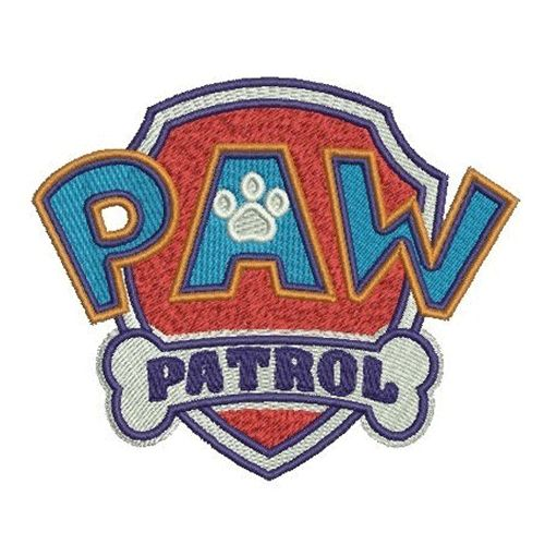 Paw Patrol Logo embroidery design INSTANT download, Paw Patrol embroidery design INSTANT download, Paw Patrol machine embroidery design INSTANT download