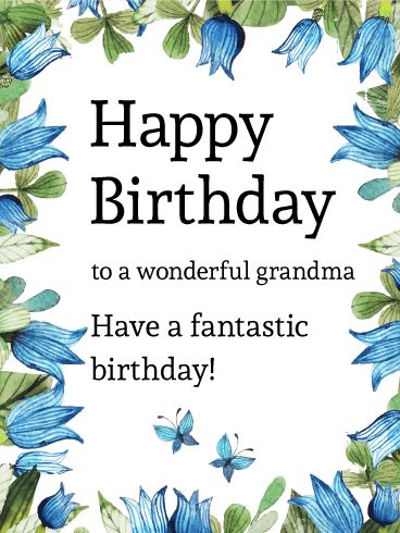 20 best birthday cards for grandma images on pinterest for What to get your grandma for her birthday