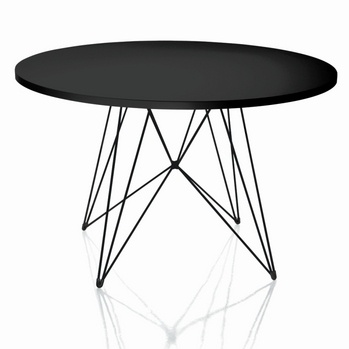 TAVOLO XZ3 table MAGIS TAVOLO XZ3 TABLE / this could be done revamping an old round table with rope and a wooden ring