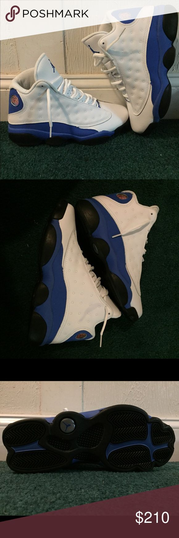"Jordan 14 ""Hyper Royal"" (Unreleased) Air Jordan 13 Color: White/Hyper Royal Style Code: 414571-117 Release Date: March 3, 2018 Jordan Shoes Athletic Shoes"