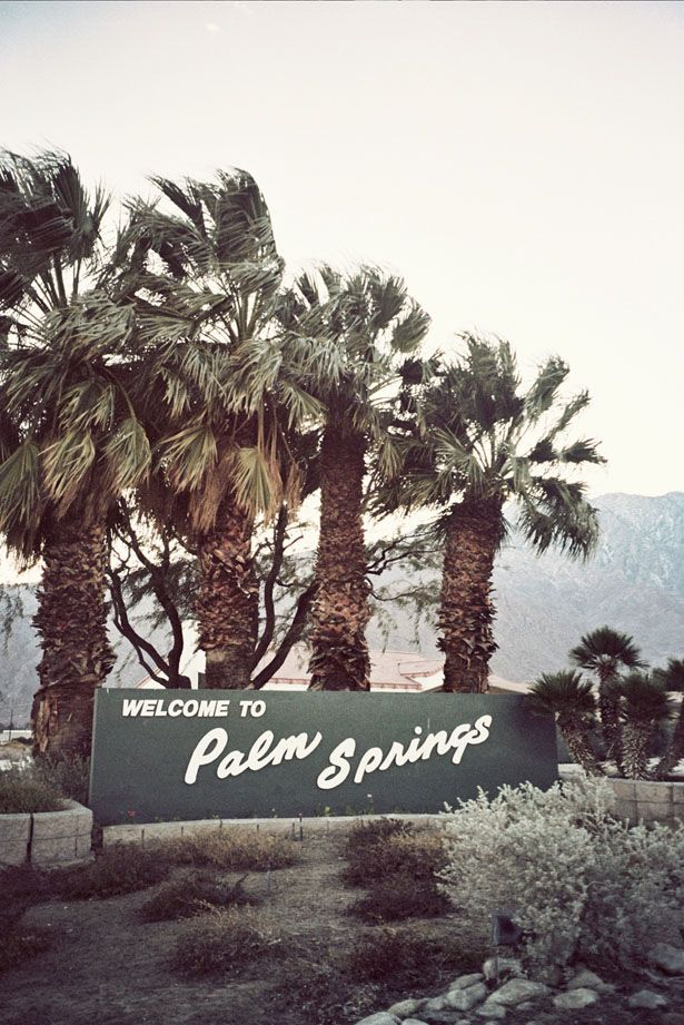 palm springs - rachel roy travel diary