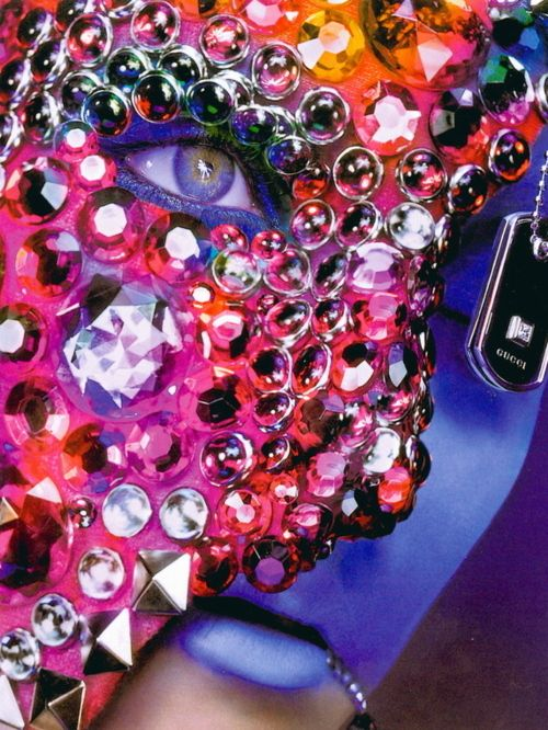 Jewelled mask: Lydia Hearst, Jewels Masks, Flair Magazines, Colors, Makeup Photography, Alix Malka, Flairmagazin, Eye, Jewelry Editorial