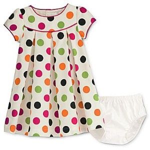 carters polka dot baby dress