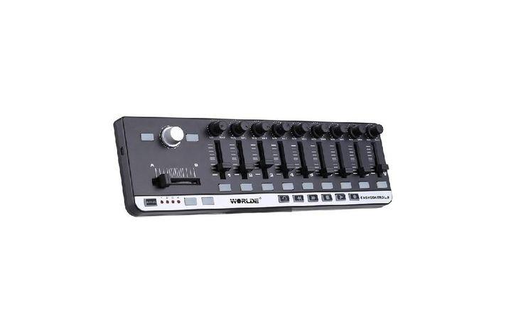 High Quality Portable MIDI Slim-Line Controller Mini USB 9 Keyboard