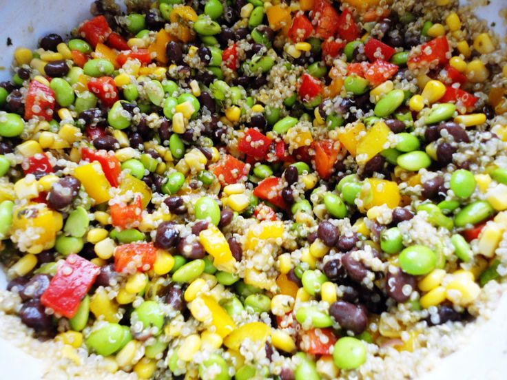 Southwest Quinoa Salad - delicious! | Delish Food | Pinterest