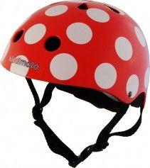 Dětská cyklistická přilba Red Dotty č.1
