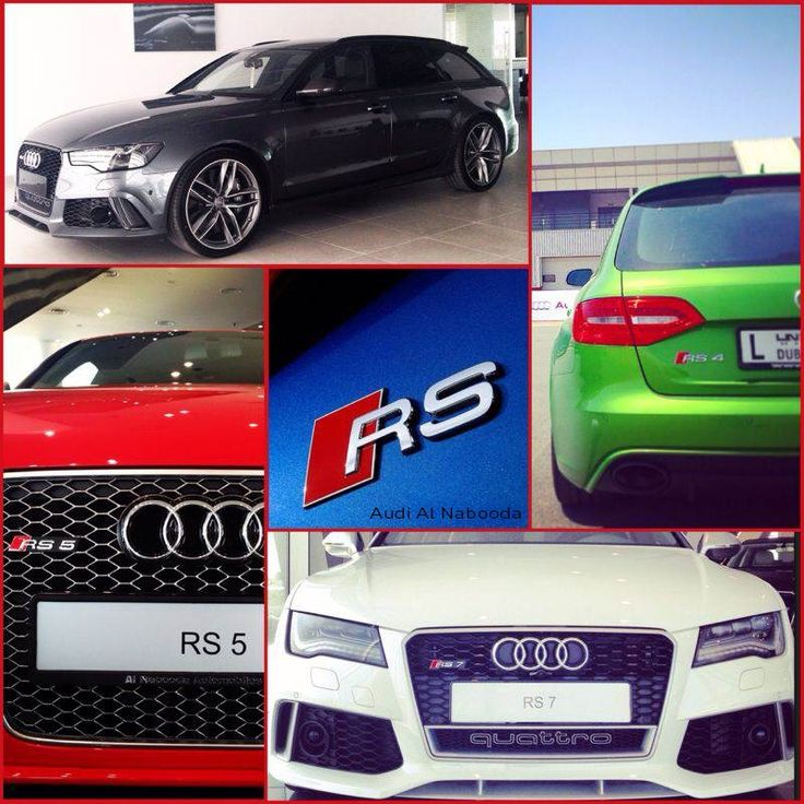 Audi RS in Dubai