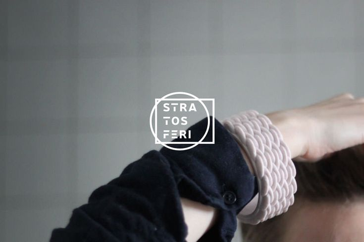 archventil_stratosferi_3d-printed_bracelets_rose (5) #Product & #BrandIdentity #Design #bracelet #3dprinted #3dprinting #3dprintedbracelet #braceletdesign #plastic #abs #yellow #black #white #rose #layers #stratosferi #strati #identity #graphics #packaging #labels #stickers #logo #brand #identity #neris #circle #strato #jewellery #fashion #milan #marca #grafica #marchio #etichetta #bracciale #stampa3d