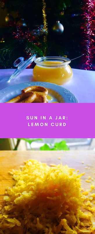 Lemon curd, simple and delicious