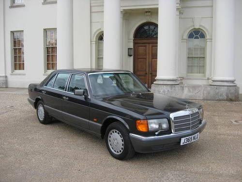 1992 Mercedes 500SEL My Carr
