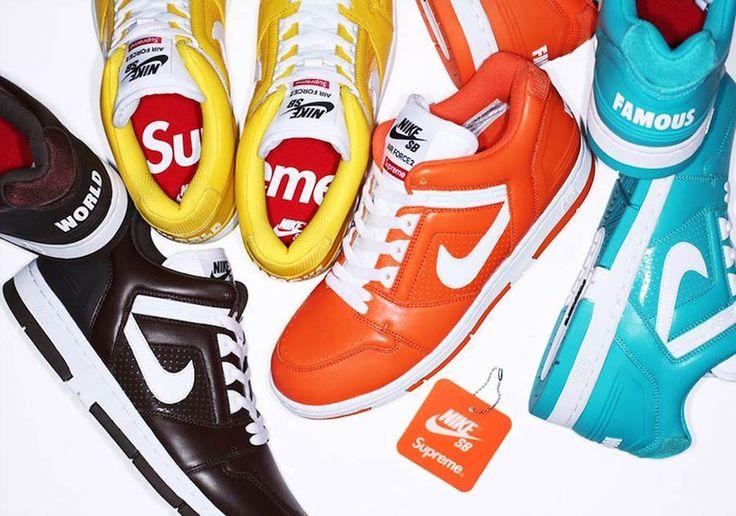 Supreme x Nike Air Force 2 Collection - EU Kicks: Sneaker Magazine