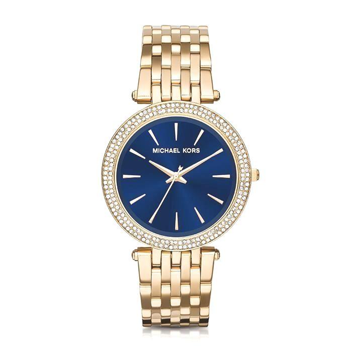 Relógio Michael Kors Feminino Ref  Mk3406 4ai - Slim   GoldJewelleryMichaelKors Michael Kors Relogios e88df550de