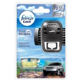 Febreze Car Air Freshener Unit with Open Sky Refill