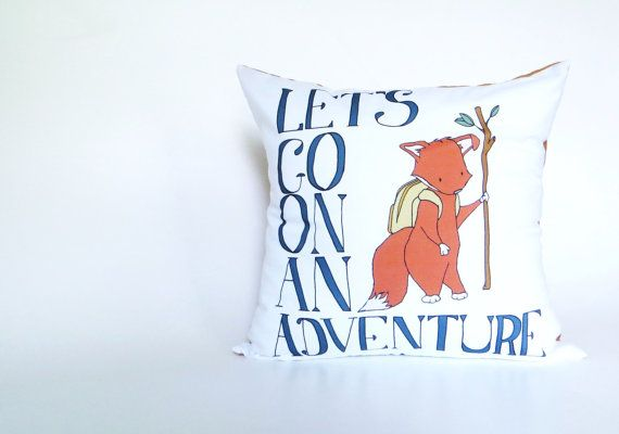 Woodland Nursery Bedding  Let's Go On An by SweetMelodyDesigns