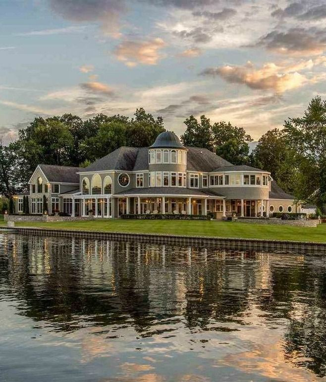 Midwest Luxury Lake Homes: 17 Best Images About Luxury Homes On Pinterest