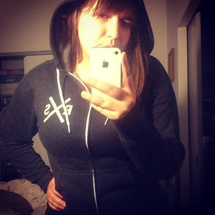 rayannelangdon (Rayanne Langdon) wearing our RXS Hoody via her Instagram Photo Feed