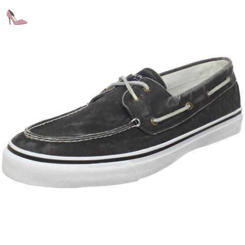 Sperry Seacoast cuir Filles Chaussures bateau, white, 37.5 EU
