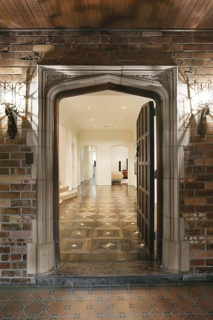 The intricate brickwork of the evocative facade reveals a glamourous interior boasting inlaid oak parquetry floors, double glazed leadlight windows and high ceilings throughout - absolutely stunning!