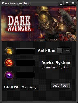 Don't wait just get our Dark Avenger Hack here http://www.etoolsworld.com/dark-avenger-hack/