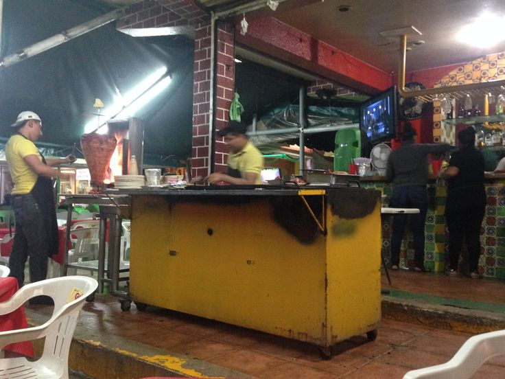 Mexican street slow food