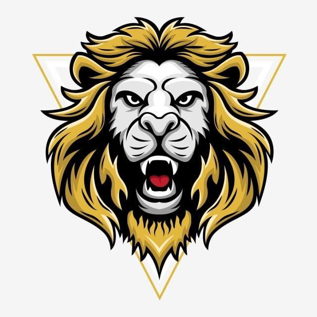 Glowa Lwa T Wektor Wzor Krol Lew Clipart Lew Zolty Png I Wektor Do Pobrania Za Darmo Vector Design Lion Head Logo Lion Vector