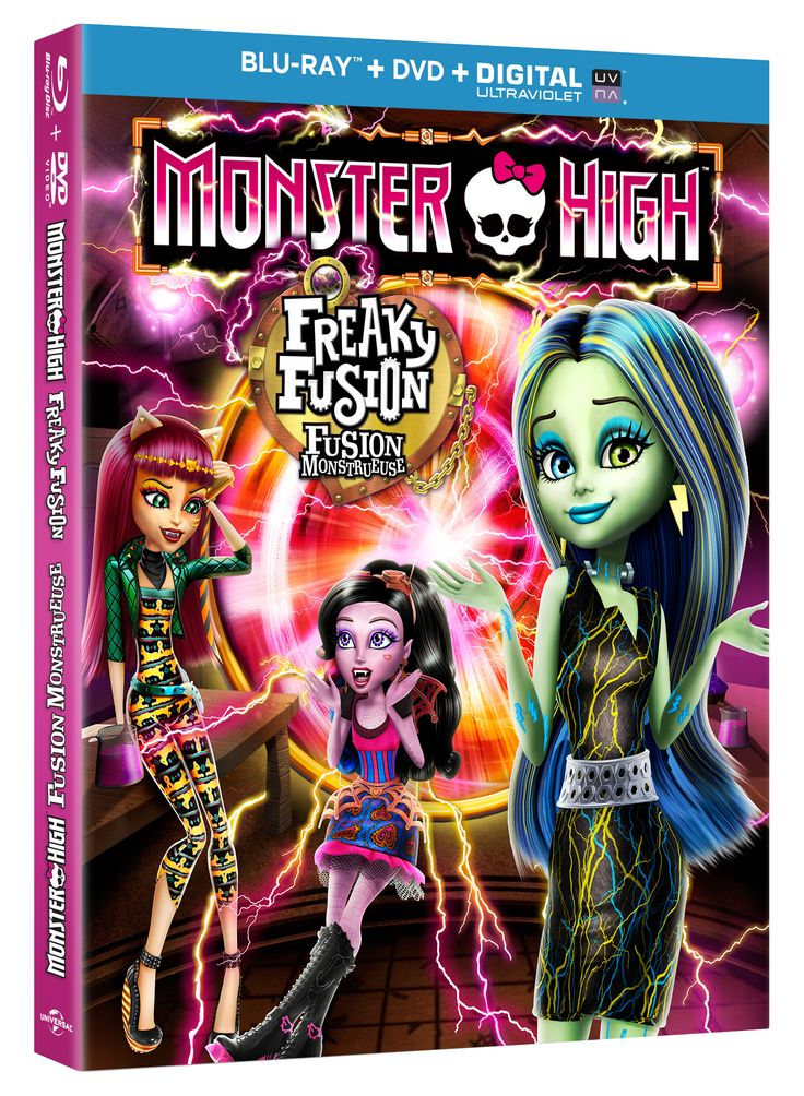 WIN 1 of 5 Monster High: Freaky Fusion Movies from SnyMed.com! CAN/USA - Ends 9/30 ENTER: http://www.snymed.com/2014/09/monster-high-freaky-fusion-comes-to-blu.html