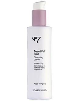 Boots No7  Beautiful Skin Cleansing Lotion Normal/Dry