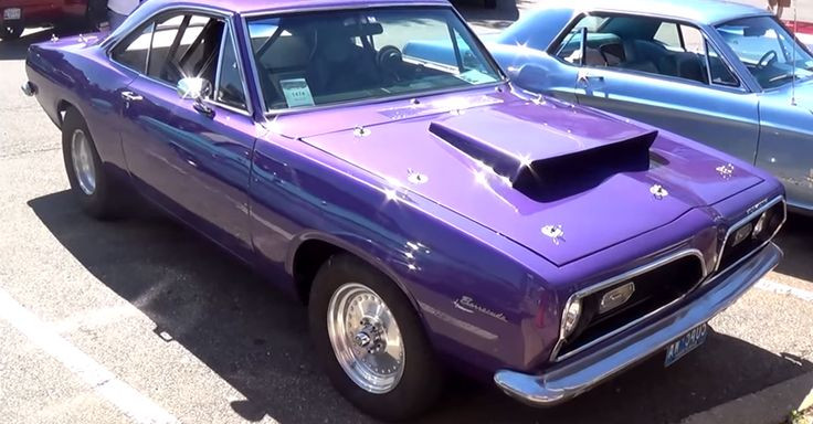 Plum Crazy Purple 1969 Barracuda Pro Street Video