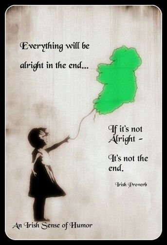 It's not the end...