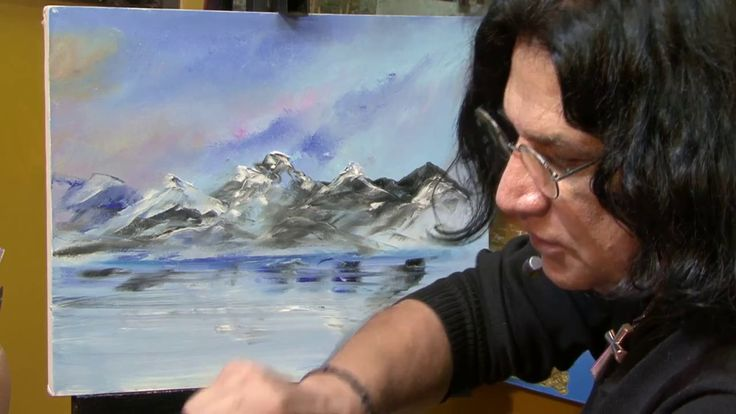 Cómo pintar un paisaje / Pintura al óleo - Parte 1