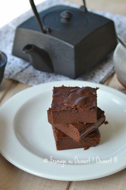 Fromage ou Dessert ? ... DESSERT !!!: Fondant au chocolat à tomber par terre (à la compote) !