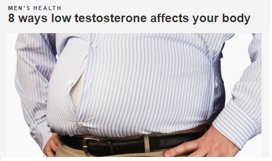 (4) Your Belly Grows  . To learn more about safe and effective #LowT treatments, call    (866) 205-8262 . . . . . #Health #News #HealthNews #FoxNews #Research #Science #ScienceStudy #Men #MensClinic #Andropause #Androgen #Testosterone #WeightLoss #HairLoss #Healthy #Muscle #Penis #ErectileDysfunction #Alopecia #Chicago #LasVegas #Vegas #Charlotte #GreenBay #Omaha #Denver #Tampa #Albuquerque Coming soon to #BeverlyHills