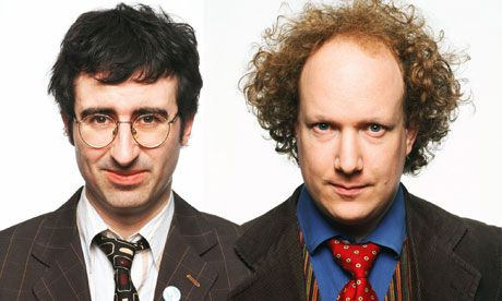 Podcasts | The Bugle - weekly satirical news by comedians John Oliver & Andy Zaltzman The Bugle is one of my favorite comedy podcasts. For several years, I've been enjoying this weekly satirical news podcast created by comedians John Oliver and Andy Zaltzman. You may know Oliver from his job as a correspondent on John Stewart's The Daily Show, for which he won an Emmy in 2009, and his own HBO show. And you may know Zaltzman from, uh, uh, let's see, hmm, give me a minute... (crickets…