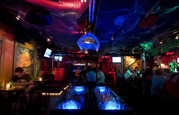 Wicked Willy's  Where: 149 Bleecker St, Manhattan  What: Free drink on Tuesday, Thursday, and Sunday nights for singing karaoke