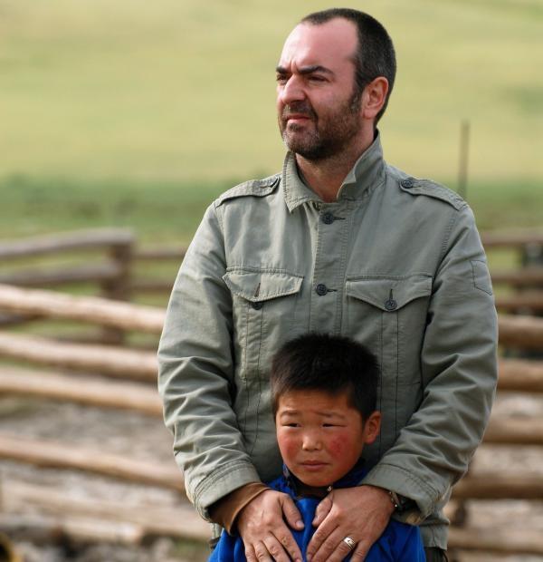 Bruno Solo chez les cavaliers mongols