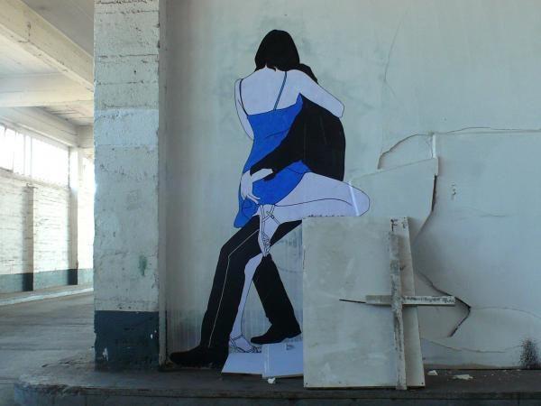 Claire Steet Art in Paris