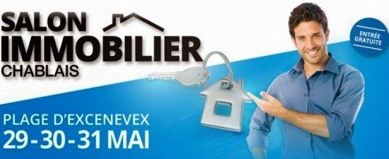 Citya Belvia Immobilier participe au Salon de Immobilier du Chablais - plage d'Excenevex, autour du Lac Léman, les 29, 30 et 31 mai.  Salon Immobilier du Chablais excenevex