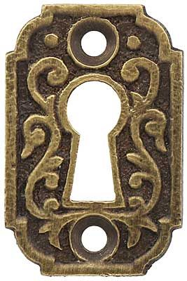 Joplin Keyhole Cover in Antique-by-Hand | House of Antique Hardware