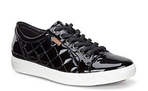Ecco ladies shoes - Ecco Soft 7 Ladies Lace Up Casual Shoe #black #patent #leather #quilted #daps #plimsolls #Lace #Womens #Ladies Size 37, 38, 39, 40, 41 Ecco Shoes Online http://www.robineltshoes.co.uk/store/search/brand/Ecco-Ladies/