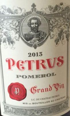 2013 Pétrus