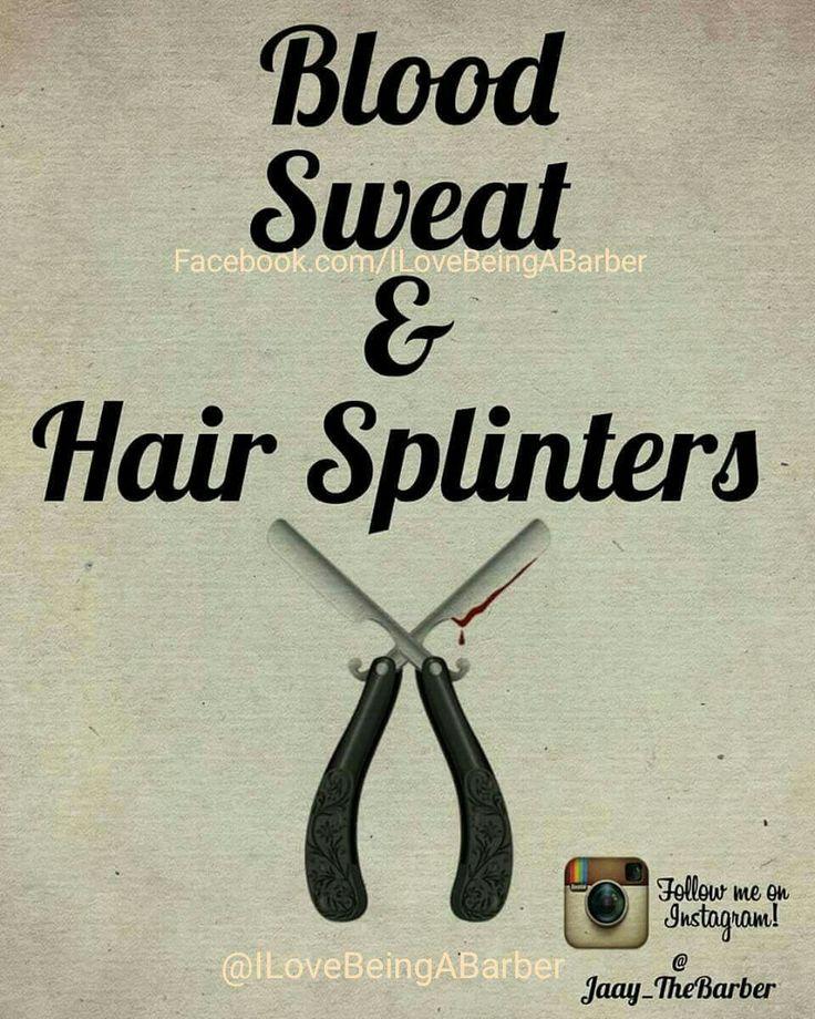Blood sweat & hair splinters
