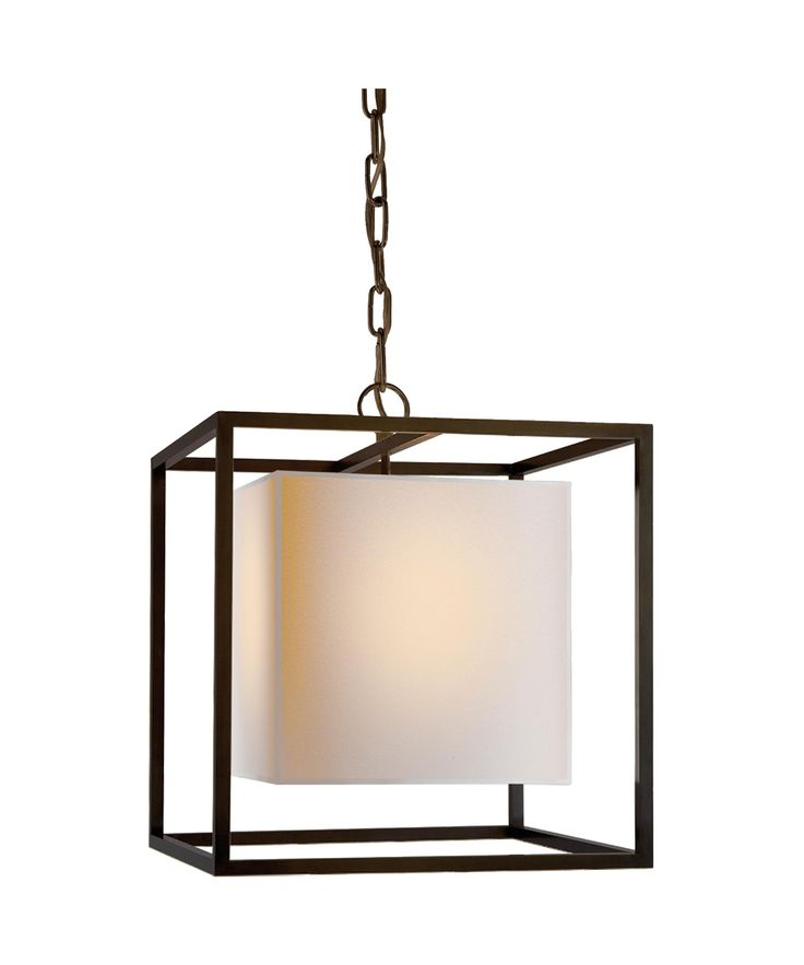 Visual comfort eric cohler caged 16 inch foyer pendant capitol lighting 1 800lighting