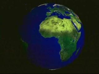 Starting with a full earth view, this animation zooms to and around Antarctica as the continent morphs from the present day topography to the topography of the last glacial maximum and back to that of the present.