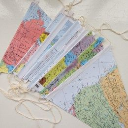 Vakantie vlaggenlijn DIY stap 03 I gemaakt door het creatief lifestyle blog Badschuim
