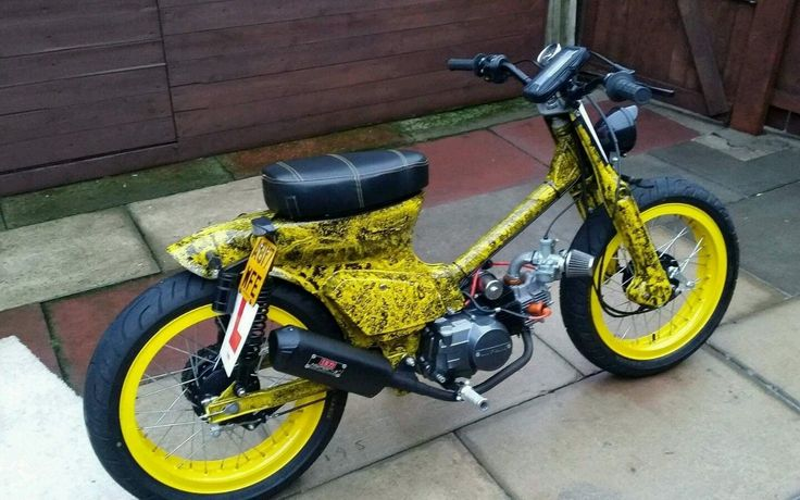 Honda c70 street cub custom c90 in Cars, Motorcycles & Vehicles, Motorcycles & Scooters, Honda | eBay