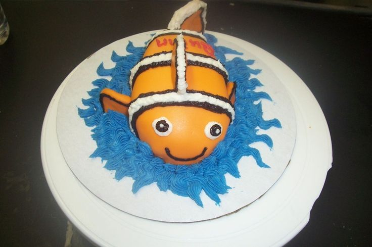 63 best cakes finding nemo and sammy the sea turtle for Nemo cake template