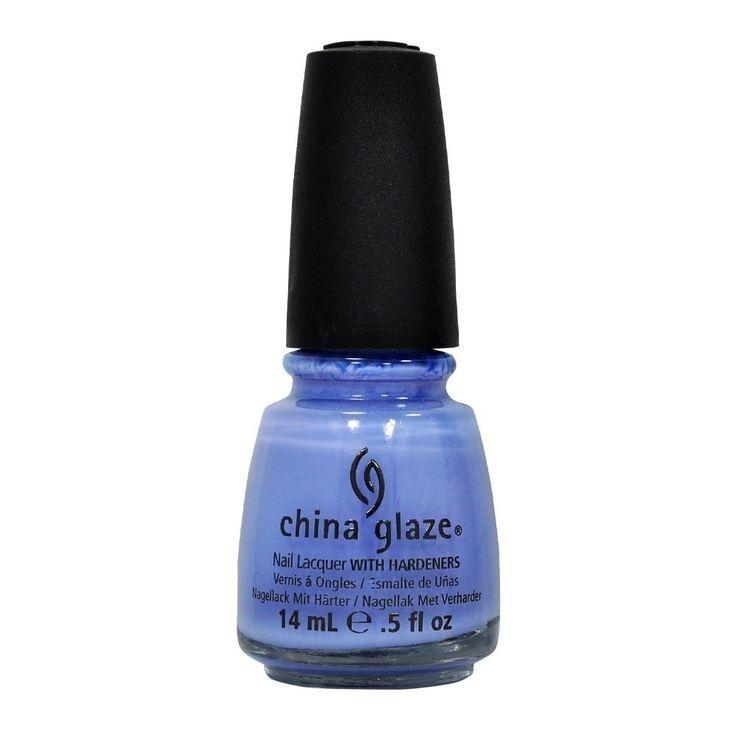 China Glaze Secret Periwinkle Nail Lacquer