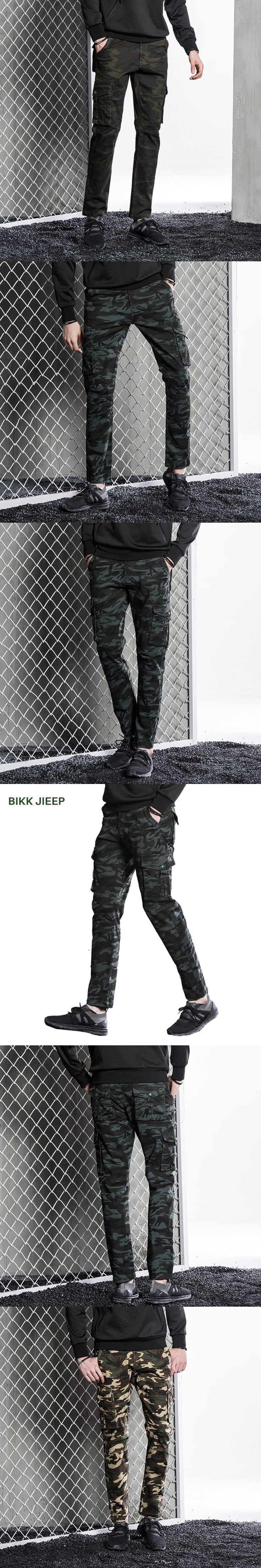 Camouflage Men Cargo Pants Combat Male Trousers Fashion Clothing Long Pants Men Autumn Winter Multi Pocket Men's Cargo Pant