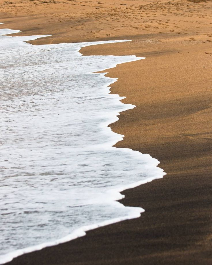 """""""There is a side of the Moon which we never see but that hidden half is as potent a factor in causing the ebb and flow of the Earth's tide as the part of the Moon which is visible."""" - Max Heindel  _  The black & gold sands of Bells Beach Victoria Australi"""